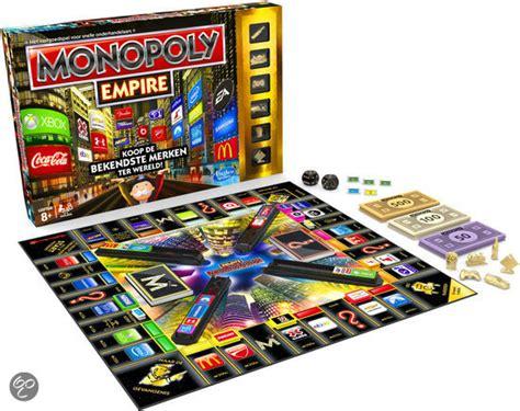 hasbro monopoly empire bol monopoly empire bordspel hasbro speelgoed