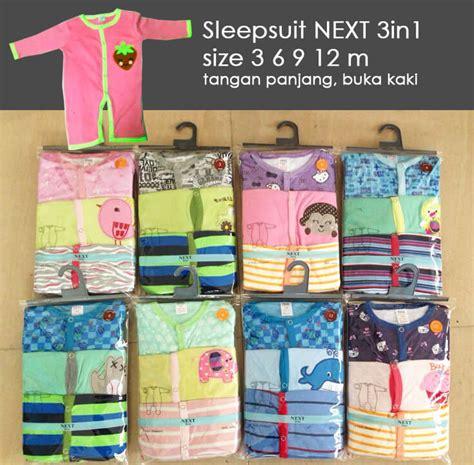 Sleepsuit Baju Tidur Bayi Murah Sni Grosir Sleepsuit Next Baju Tidur Bayi Hatibunda