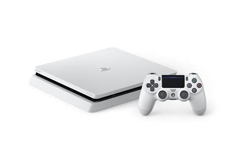 ps4 color the ps4 slim is now available in a cool glacier white