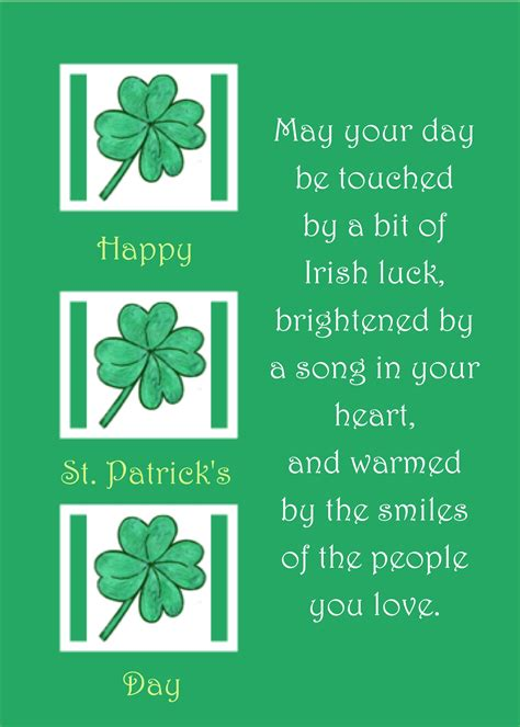 blessings for a happy st s day well wishers