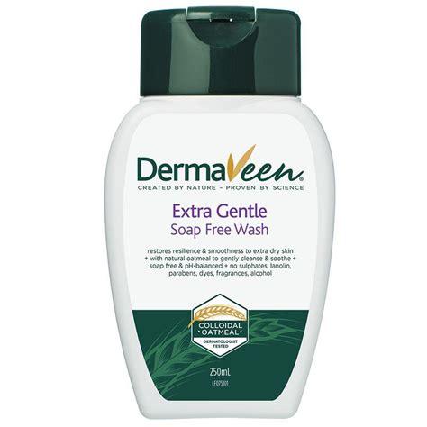 Dermaveen Eczema 100ml dermaveen gentle soap free wash 250ml my chemist