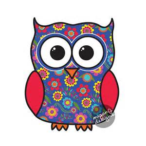 colorful owl blue floral owl car decal sticker colorful owl bumper