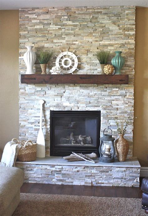 fireplace decor best 25 faux stone fireplaces ideas on pinterest rustic
