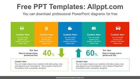 Up Down Comparison Powerpoint Diagram Template Comparison Powerpoint Template