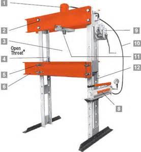hydraulic press for sale workshop press wheel bearing