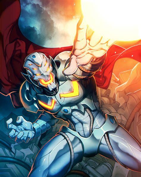 Iron Horsemen The Iron Chronicles ultron plus by genzoman on deviantart
