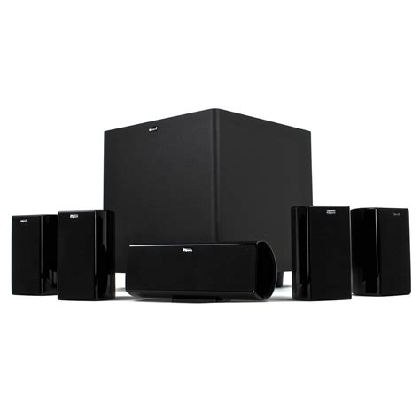 klipsch hd theater 600 home theater system 1014739 b h photo