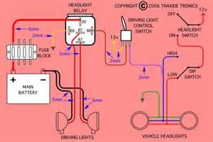 spotlight wiring electrical perth4x4
