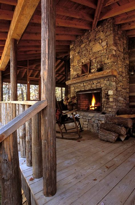 love this porch log cabin lodge pinterest 17 best images about my dream home quot modern rustic cabin