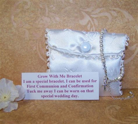 baby baptism bracelet grow with me
