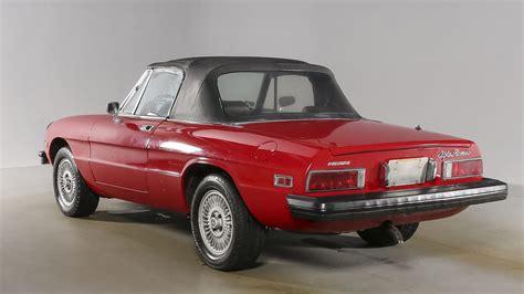 Alfa Romeo Houston by 1976 Alfa Romeo Spider Iniezione F28 Houston 2016