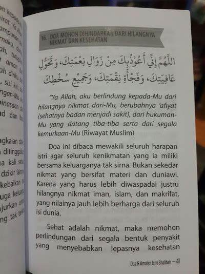 Buku Saku Surat Surat Yang Dibaca Rasulullah Ketika Pust Ibnu Umar buku saku doa dan amalan istri sholihah toko muslim title