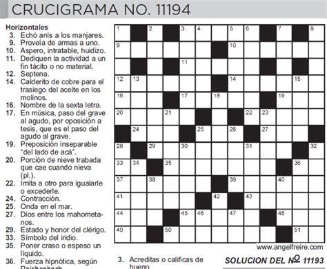 preguntas de cultura general argentina con respuestas el crucigrama qui 233 n lo invent 243 y c 243 mo se populariz 243