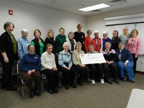district libraries receive donation hobnob branson friends receive 2 500 donation huntley area public