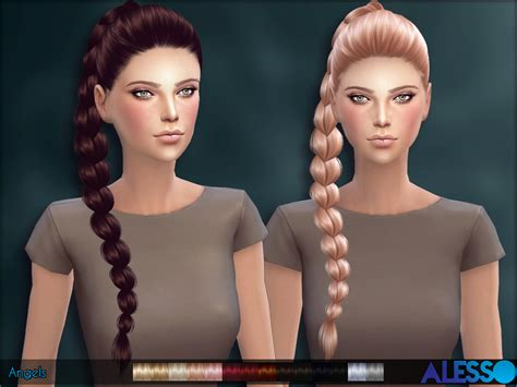 sims 4 female braids anto angels hair