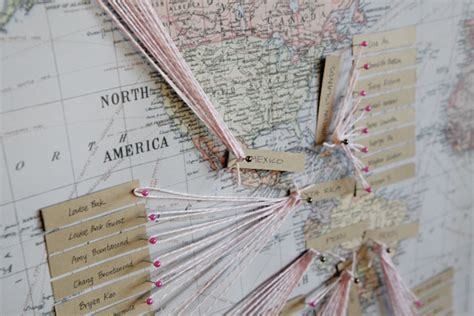 String Map - string map guest book elizabeth designs the