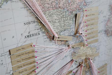 String Map - string map guest book elizabeth designs the
