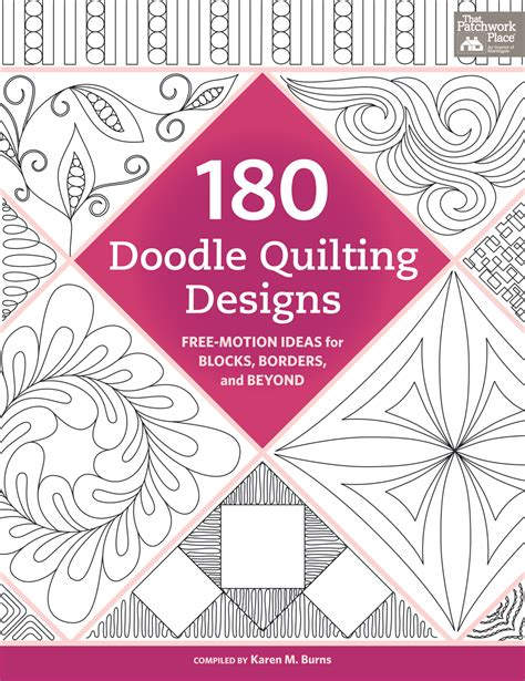 home design doodle book happy quilting 180 doodle quilting designs