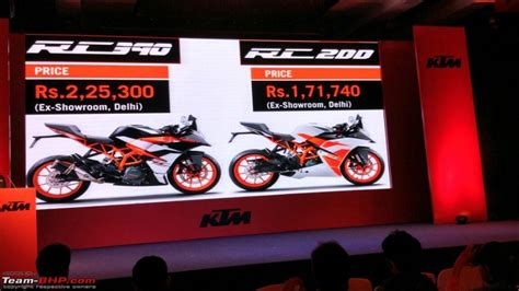 Ktm Duke 390 Price In Goa The 2017 Ktm Rc200 Rc390 Edit Launched Team Bhp
