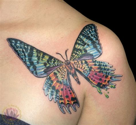 butterfly chest tattoos kern chest tattoos no no fear studio