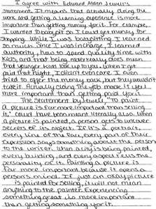 High School Sle Essay by Persuasive Essays High School Students