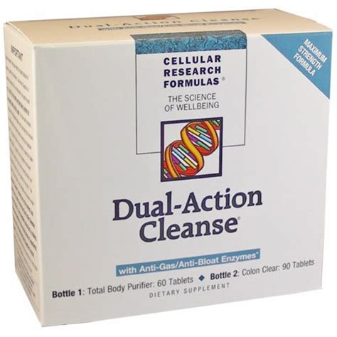 Total Cellulr Detox by Applied Nutrition Dual Cleanse 150