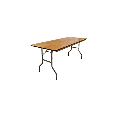 6ft rectangular table great events rentals