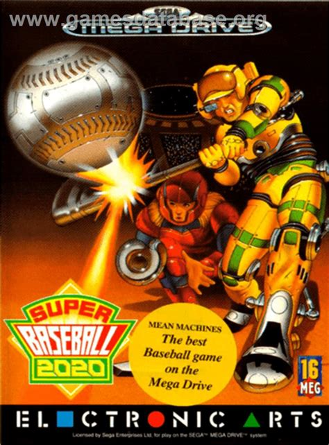 Baseball 2020 Sega Genesis by Baseball 2020 Sega Genesis Database