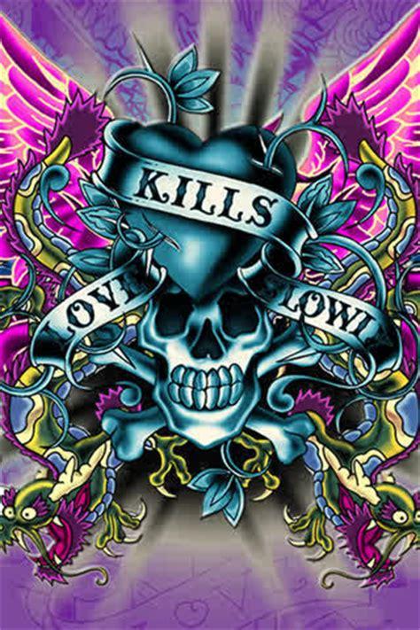 love kills tattoo idea ed hardy images ed hardy wallpaper and background photos