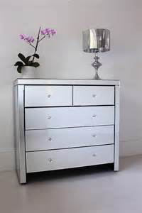 large mirrored chest of drawers by out there interiors