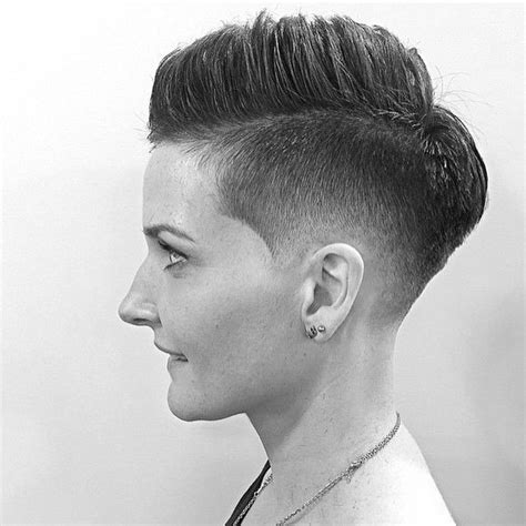 female fade hairstyles fade haircut for women instagram photo by thebarberpost