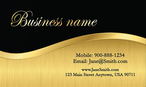 black and gold business card templates free event planner business cards free templates designs and