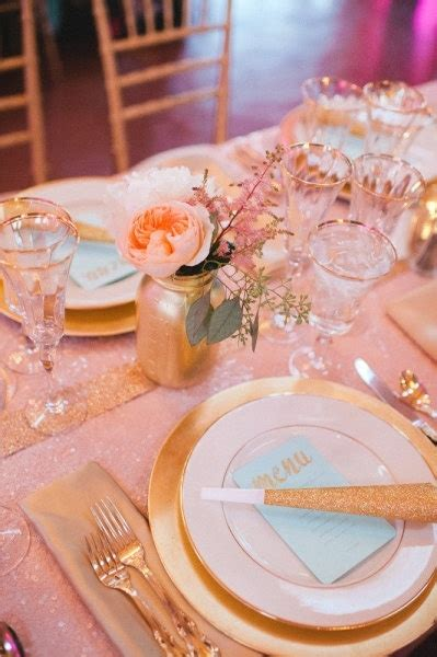 peach and gold silver or gold accents for our color scheme decor