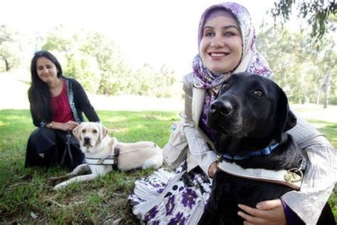 muslims dogs fresh thinking helps blind muslims tackle