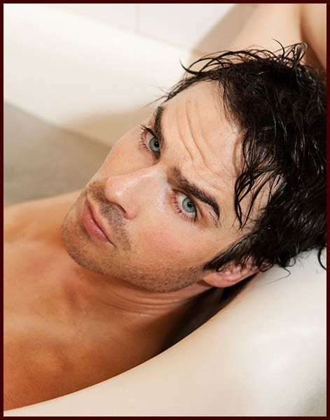 ian somerhalder how oes he do his hair ian somerhalder jumps in the bathtub for sexy butch hogan