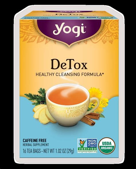 How Does Detox Tea Work by Yogi Detox Tea Review A Great Tea For Your Swol