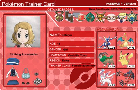 how to make trainer card trainer card images images