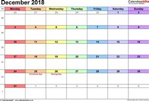 Calendar 2018 Holidays Uk December 2018 Calendar With Holidays Uk Printable 2017