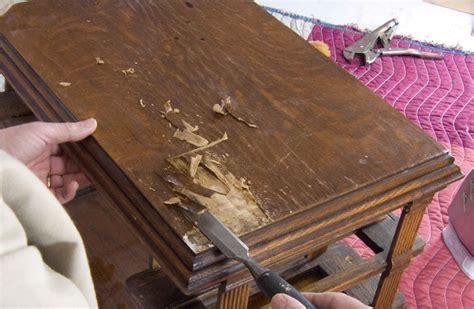 repair veneer table top 12 best images about wood veneer restore on