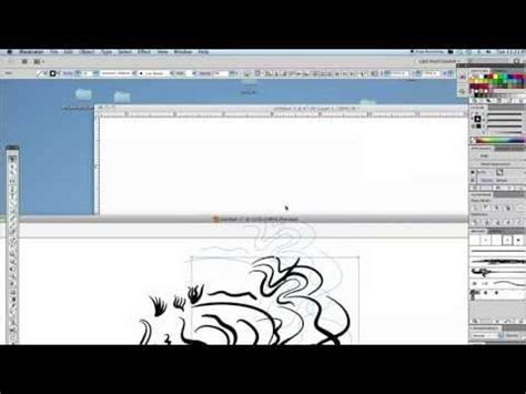 tutorial illustrator brushes brush tool tutorial wacom cintiq 21ux illustrator