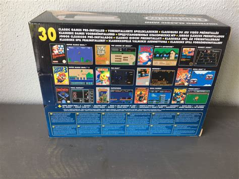 30 classic on a collector s edition mini nes gametraders news nintendo classic edition console nes mini with 30 new catawiki