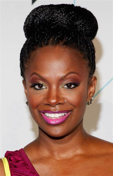 Kandi Burruss Hairstyles by Top 15 Trendy Updo Hairstyle For Black That Look Great