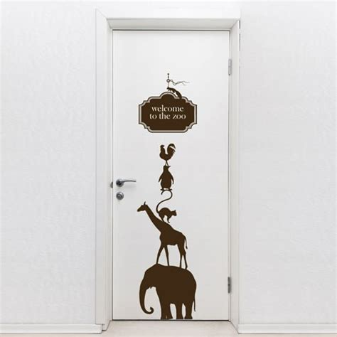 Door Decal by It Is The Trand In Home D 233 Cor Door Decals