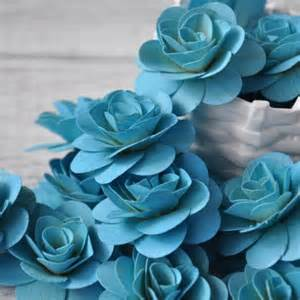 Boutonnieres And Corsages Wood Roses Birch Wood Shavings Crafted Flowers Sky Blue 24 Pc Accentsandpetals Wedding