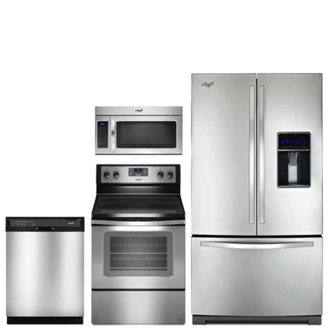 stainless kitchen appliances french stainless steel appliance package kitchen ge