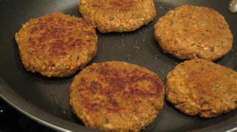 p protein burger vegan nutritional yeast and tvp veggie burgers recipe