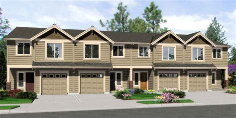 fourplex house plans 4 plex house plans multiplexes quadplex plans
