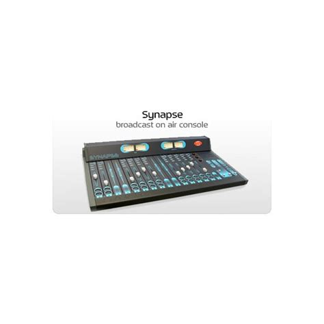 broadcast mixing console aev synapse broadcast mixing console modular