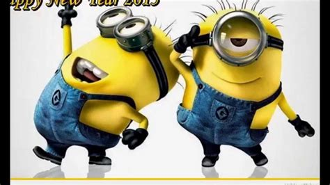 happy  year   minions  song video messages wishes  facebook whatsapp hike