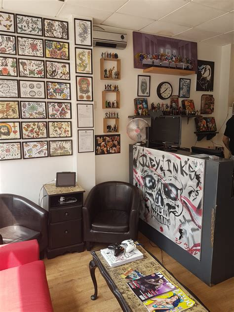 tattoo parlor in london joey inks south london club